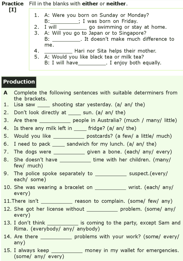 Grade 7 Grammar Lesson 5 Determiners (5)
