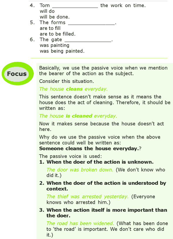 Grade 7 Grammar Lesson 6 The passive voice (1)