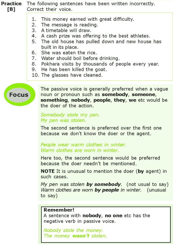 Grade 7 Grammar Lesson 6 The passive voice (2)