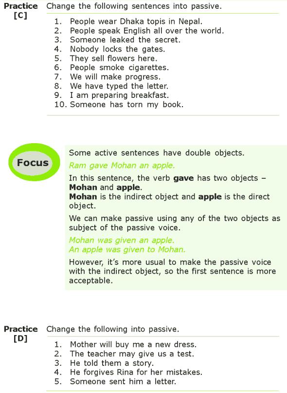 Grade 7 Grammar Lesson 6 The passive voice (3)