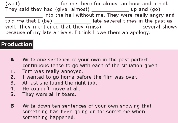 Grade 8 Grammar Lesson 11 The past perfect continuous tense (2)