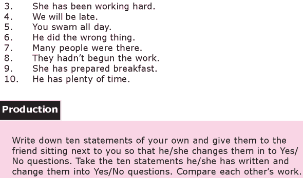 Grade 8 Grammar Lesson 18 Yes No questions (3)