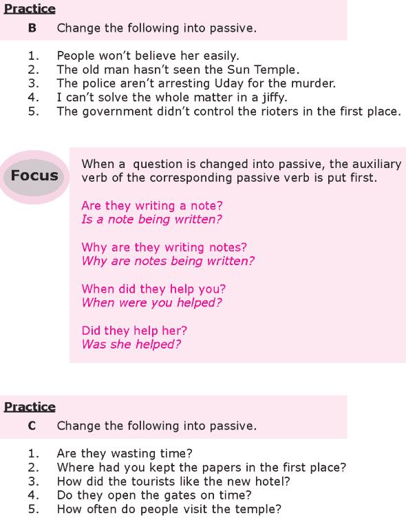 Grade 8 Grammar Lesson 22 Transformation passive voice (3)