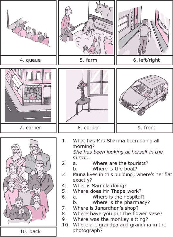 Grade 8 Grammar Lesson 28 At, on and in prepositions of place (4)