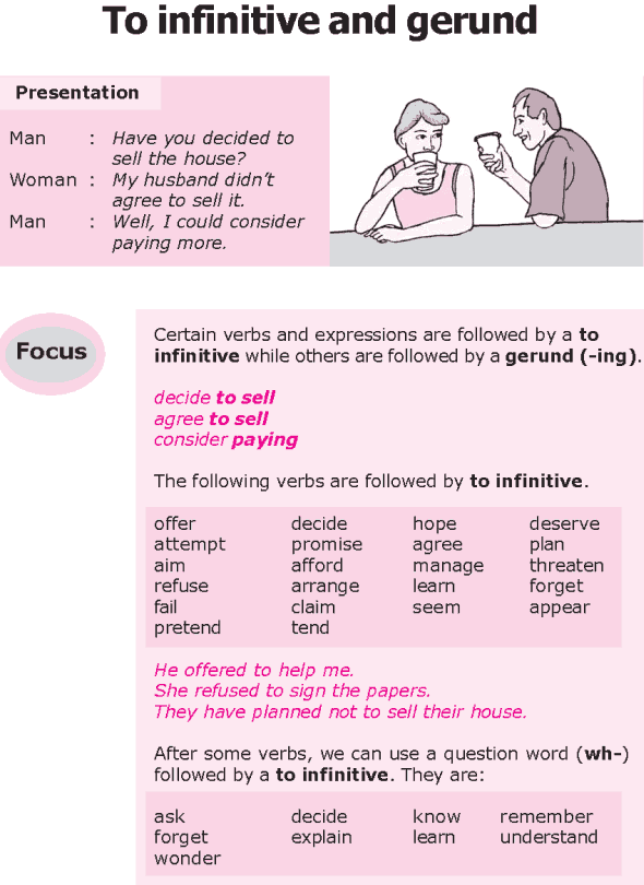 Grade 8 Grammar Lesson 30 To infinitive and gerund