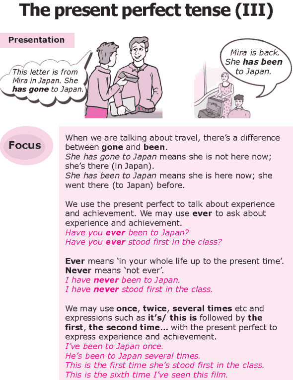 Grade 8 Grammar Lesson 6 The present perfect tense (0)