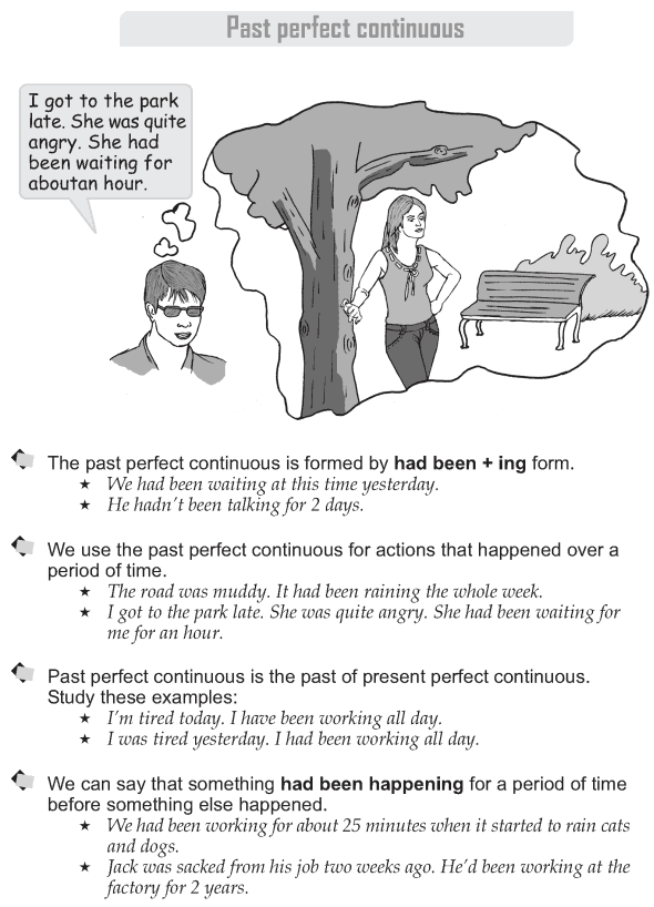 Grade 9 Grammar Lesson 11 Past perfect continuous