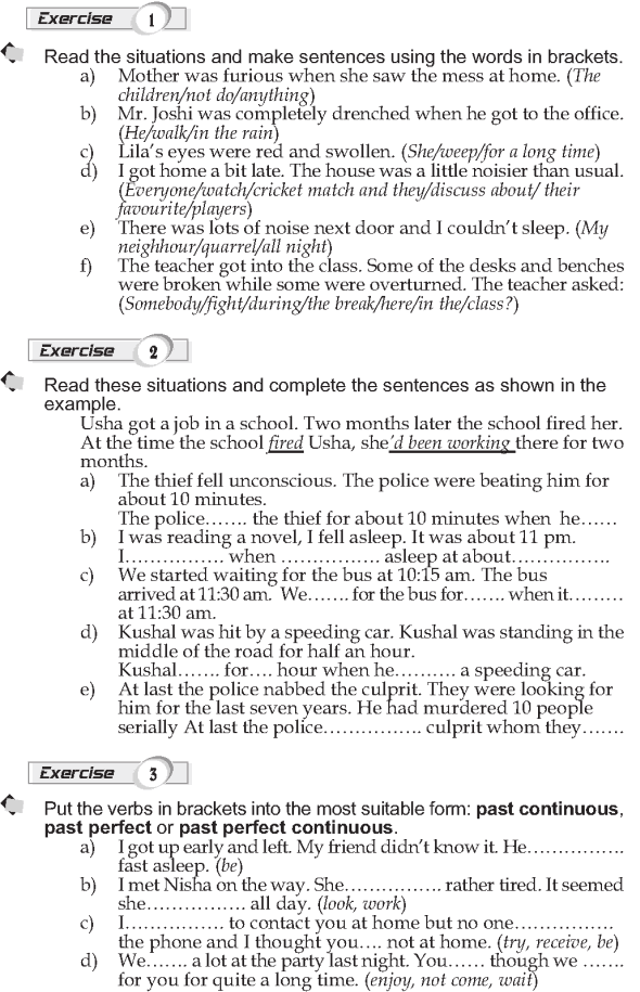 Grade 9 Grammar Lesson 11 Past perfect continuous (2)