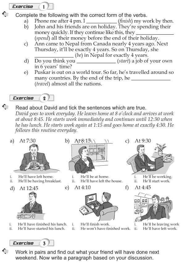 Grade 9 Grammar Lesson 15 Future perfect (2)