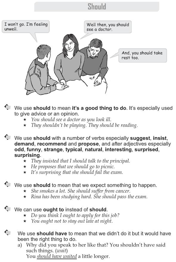 Grade 9 Grammar Lesson 26 Should