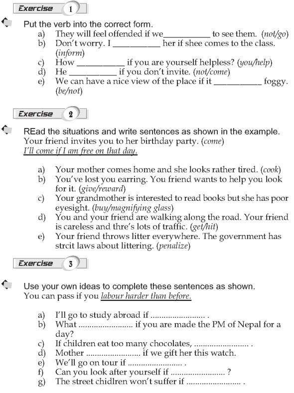 Grade 9 Grammar Lesson 28 Conditionals 1 (2)
