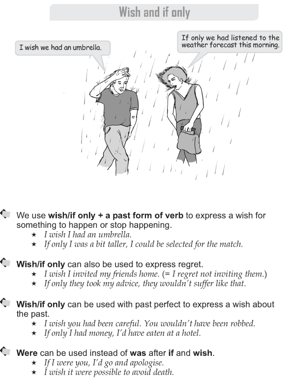 Grade 9 Grammar Lesson 31 Wish and if only (1)