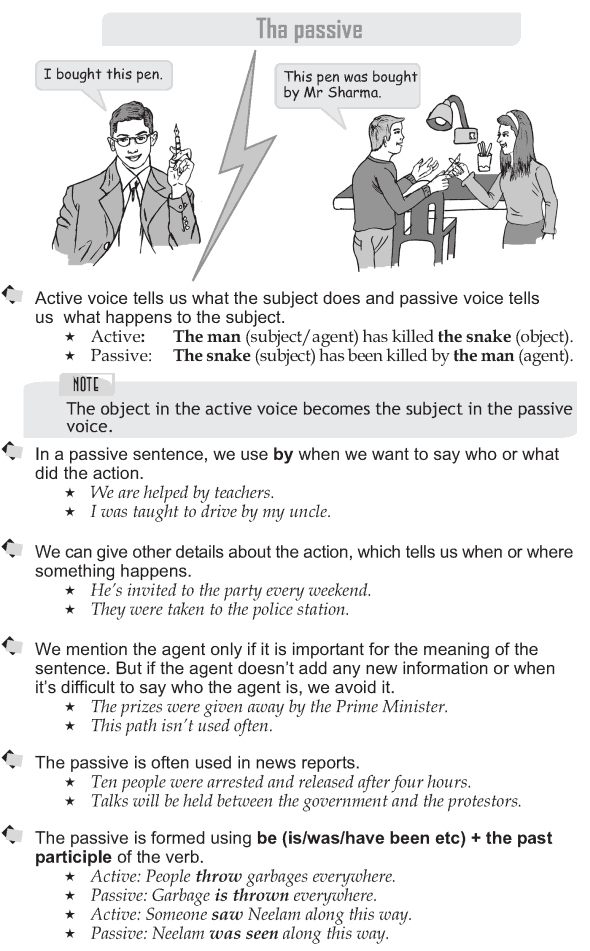 Grade 9 Grammar Lesson 32 The passive (1)