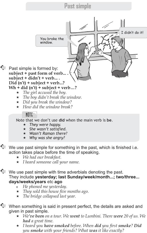 Grade 9 Grammar Lesson 6 Past simple (1)