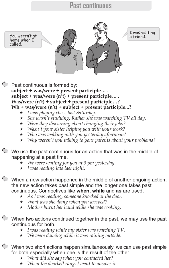 Grade 9 Grammar Lesson 7 Past continuous (1)