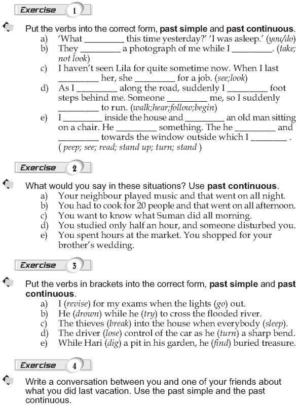 Grade 9 Grammar Lesson 7 Past continuous (2)