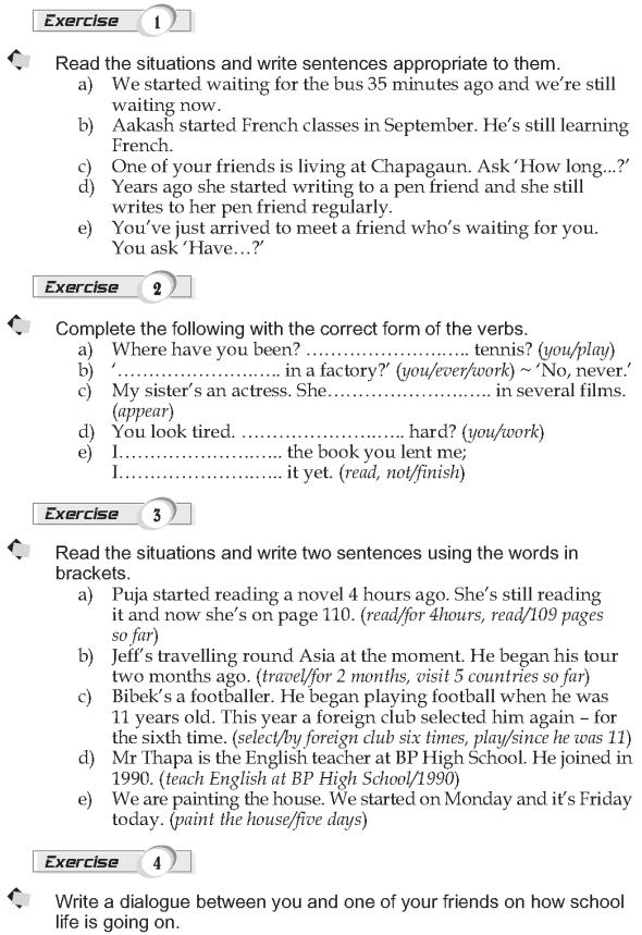 Grade 9 Grammar Lesson 9 Present perfect continuous (2)