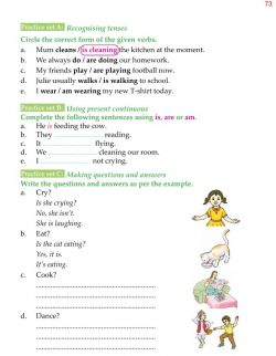 4th Grade Grammar Unit 9 Present Simple and Present Continuous 6.jpg