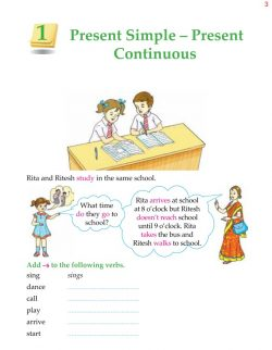 5th Grade Grammar Present Simple - Present Continuous 4.jpg