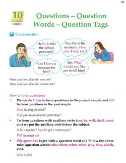 5th Grade Grammar Questions - Question Words - Question 1.jpg